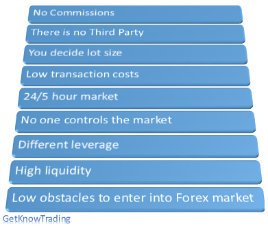 9 reasons why should you trade on the Forex market