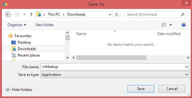 Download Folder - Save Installation Package