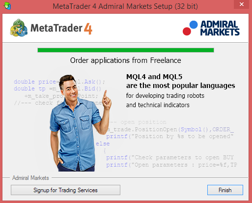 Installation Process - Finished