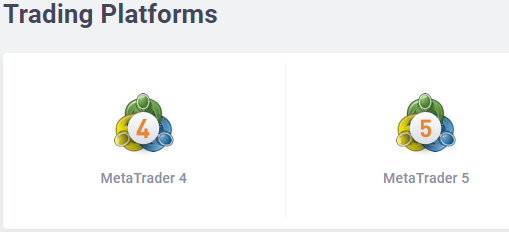 Metatrader Trading Platform - Selection