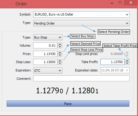 Forex Order Types Explained