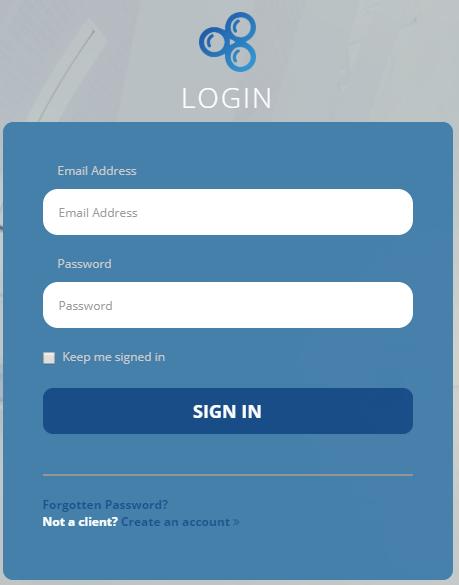 Blueberry Client Portal