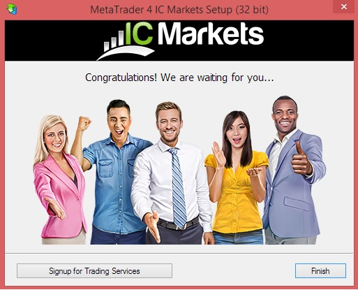Download and Install IC Markets Metatrader 4