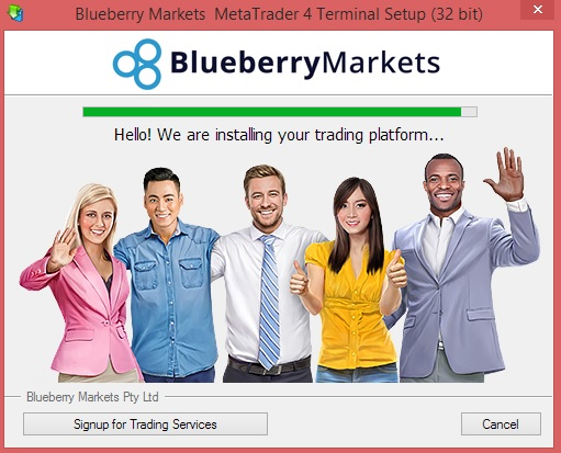 Download and Install Blueberry Markets Metatrader 4