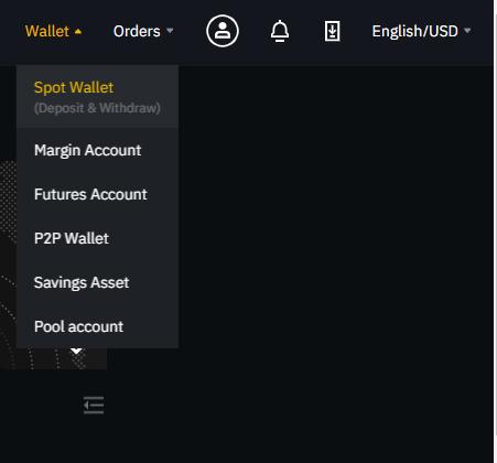 Binance - Wallet 1