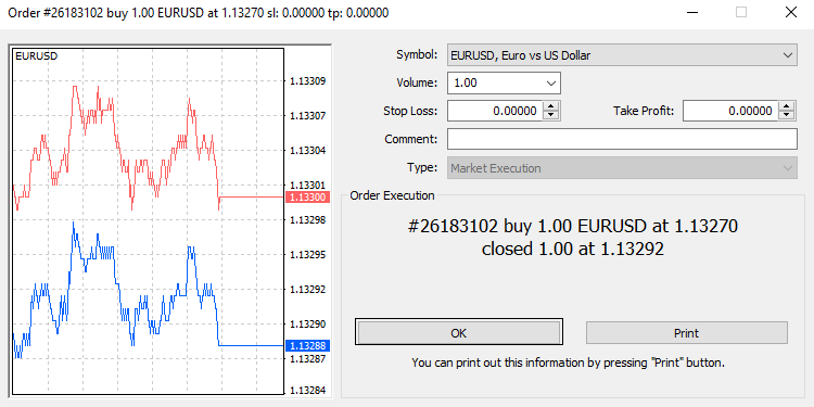 What is buy in Forex_EURUSD Pair_9
